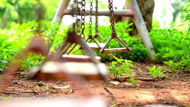 Empty swing video