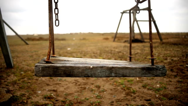 Empty swing video