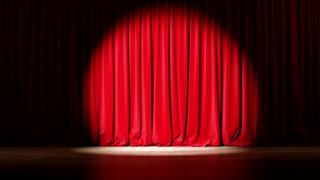 251 Red Curtain Spotlight Stock Videos And Royalty Free Footage Istock