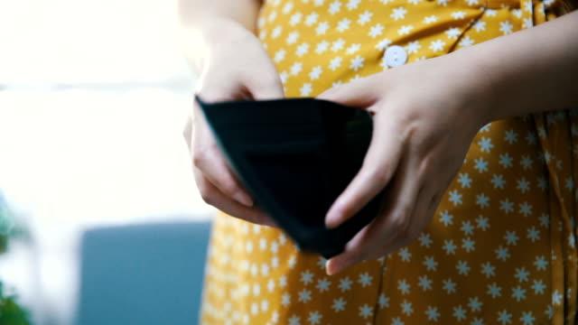 空的錢包 - 銀包 個影片檔及 b 捲影像