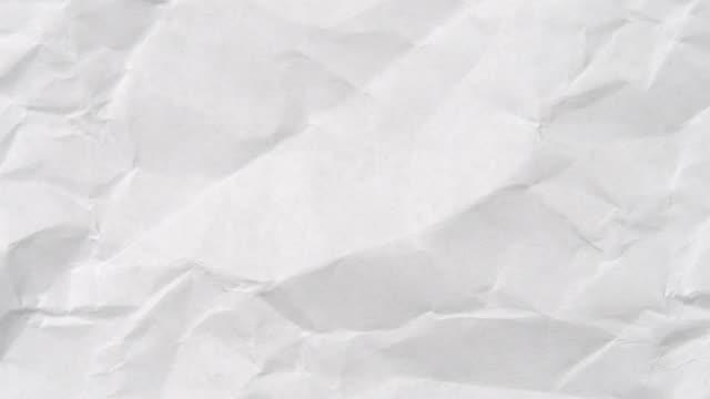 tomt vitt papper stoppa rörelse textur, 4k videofilmer. - ancient white background bildbanksvideor och videomaterial från bakom kulisserna