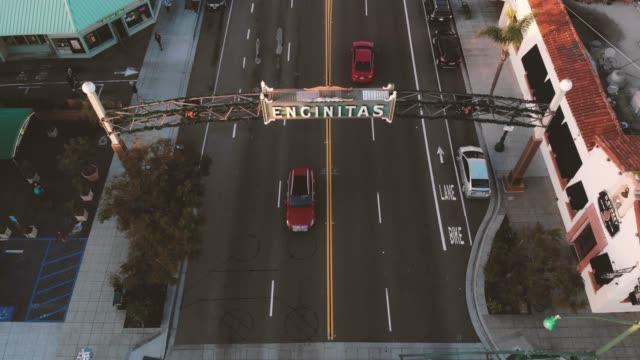segno di encinitas - christmas movie video stock e b–roll