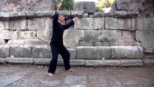 end of tai chi form video