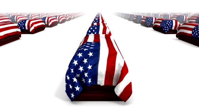 Endless American Coffins side view loop video