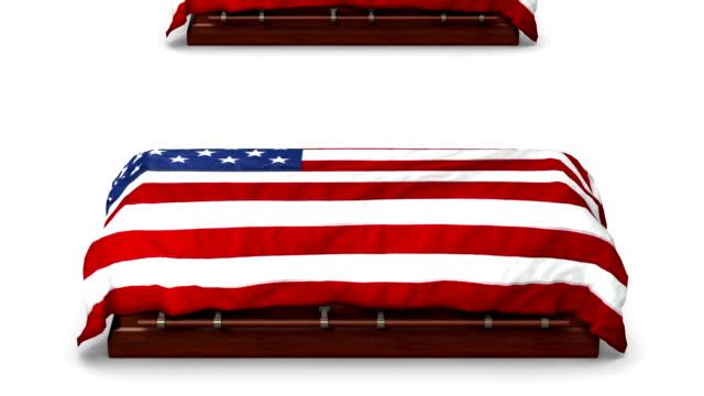 Endless American Coffins vertigo effect video