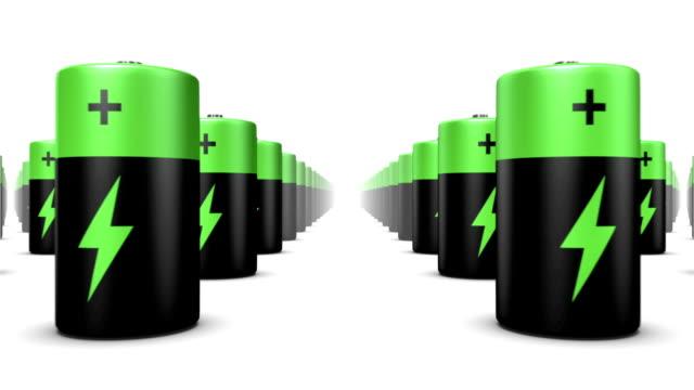 Endless Batteries low angle loop video
