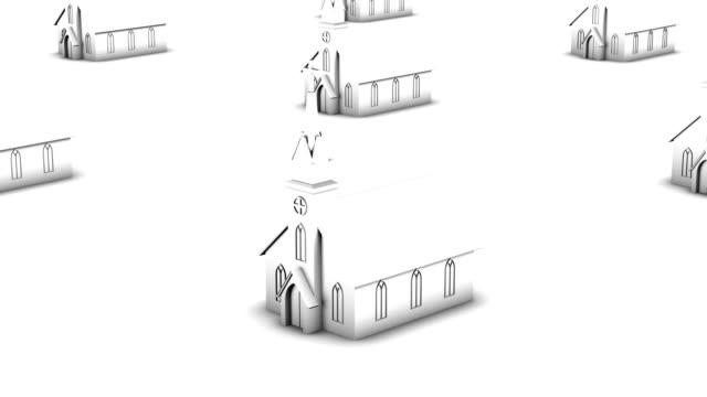 Endless churches vertigo effect (white)
