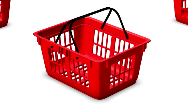 Endless Shopping Baskets vertigo effect video
