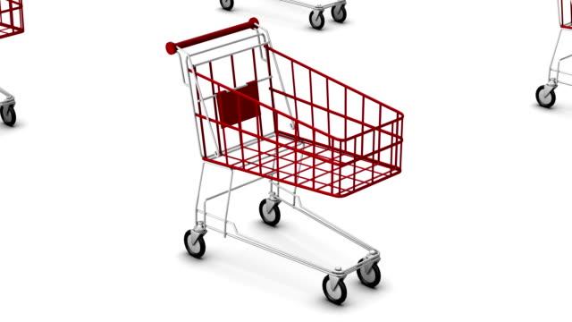 Endless Shopping Carts vertigo effect video