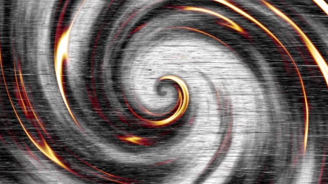 Endless spiral. Seamless loop footage.