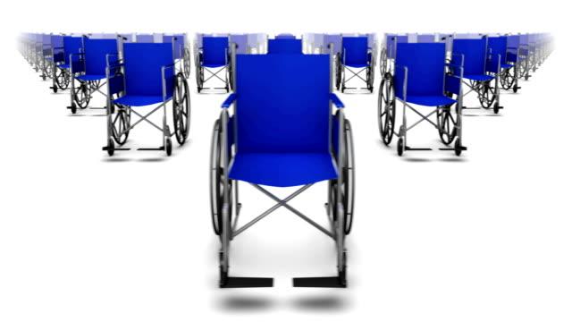 Lazo vista frontal infinitas silla de ruedas - vídeo