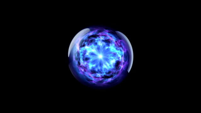 Energy ball 02 blue video