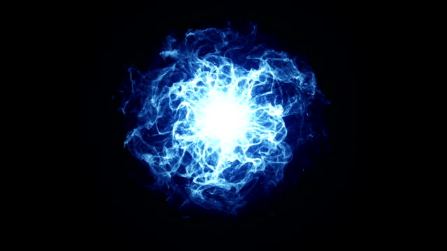 Energy Ball effect Blue