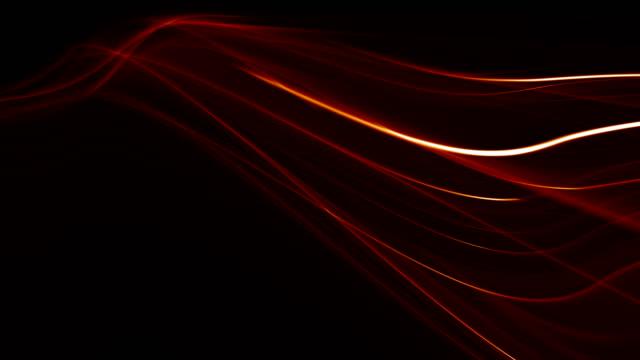 에너지 흐름 추상 흐려 모션 배경 - ribbon 스톡 비디오 및 b-롤 화면