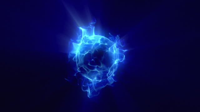 Energy or plasma ball new blue video