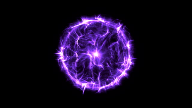 Energy or plasma ball new purple video