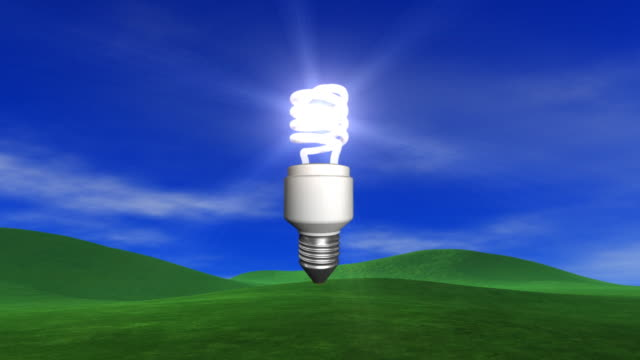 Energy Saving Light Bulb From The Sky video