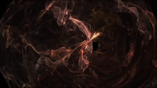 Energy space effect video background
