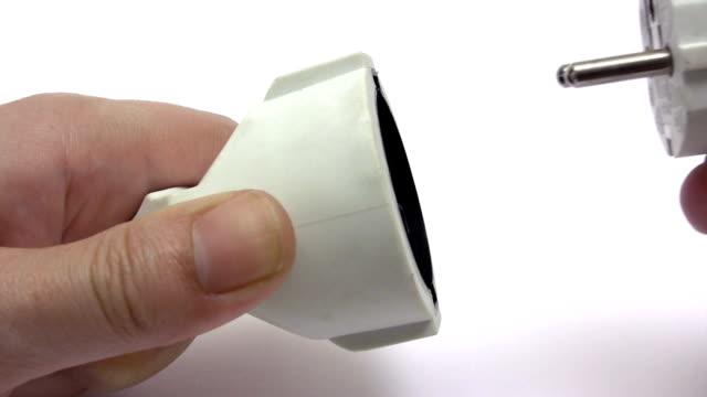 vidéos et rushes de l'énergie - vidéos de rallonge électrique