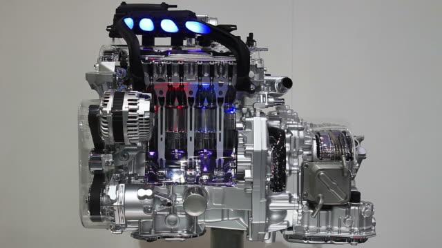 engine work inside view video