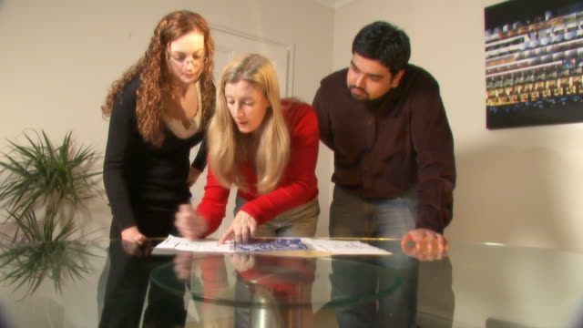 Engineer architects discuss plans video