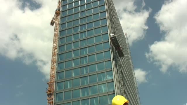 Engineer at tower 'tilt down' video