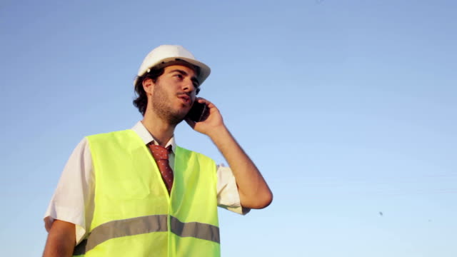 Engineer on the Phone video