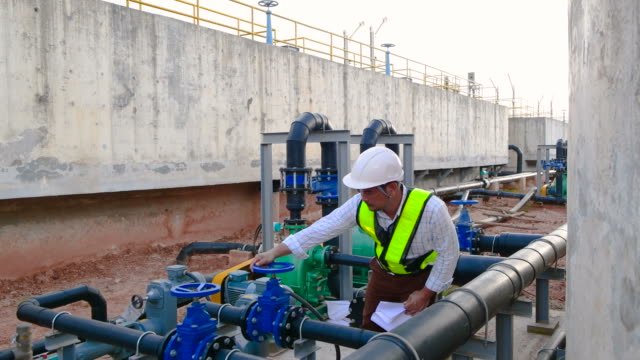 Engineer working