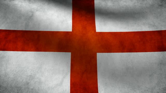 England flag. video