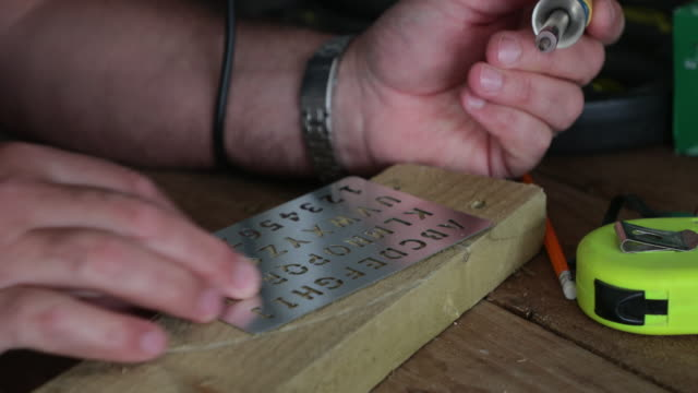 Engraving a Message In Wood