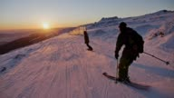 istock Enjoy Intact Sunset Slope View Slow motion 1226047785