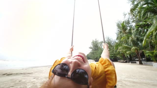 Enjoy Swing on the Beach