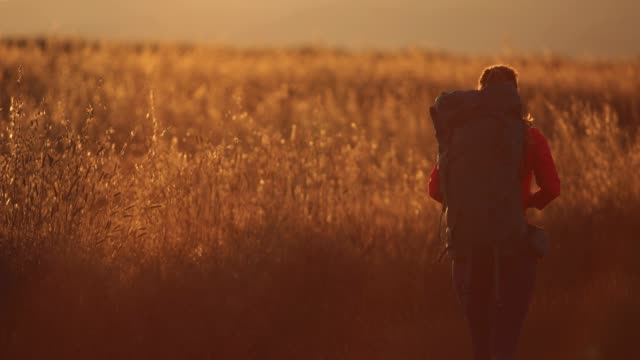 stockvideo's en b-roll-footage met genieten van het platteland reizen - sober leven