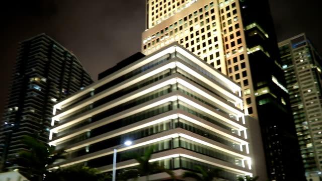 Enjoying Miami at night - video