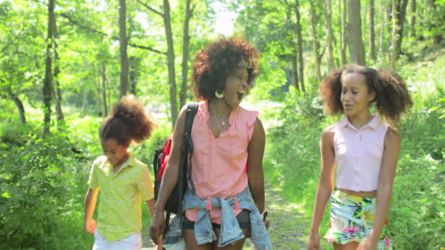 子供たちとの時間を楽しむ - 兄弟姉妹点の映像素材/bロール