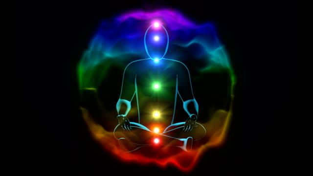 enlightenment of mind in meditation, 4k resolution. video