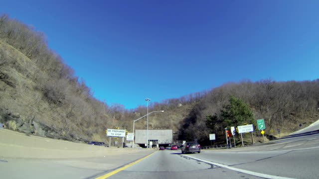 Entering the Fort Pitt Tunnel video