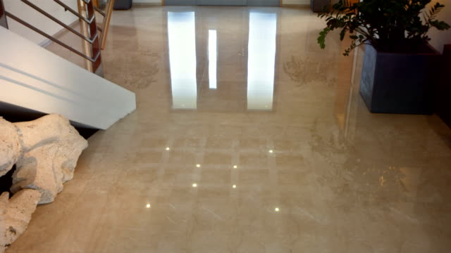 HD: Entrance Hall With Marble Floor video