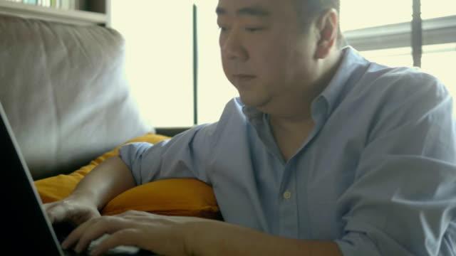 Entrepreneur works at home video