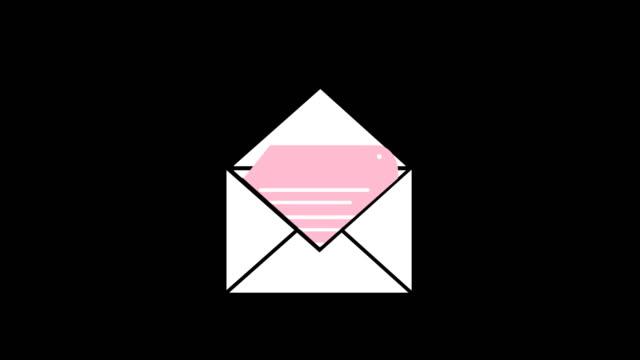 kuvert och en anteckning 4k - kuvert bildbanksvideor och videomaterial från bakom kulisserna