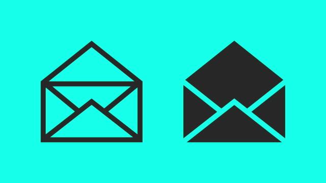 kuvert - vektor animera - kuvert bildbanksvideor och videomaterial från bakom kulisserna