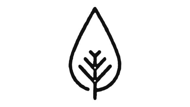 環境アイコン アニメーションフッテージとアルファ チャンネル - environmentalism点の映像素材/bロール
