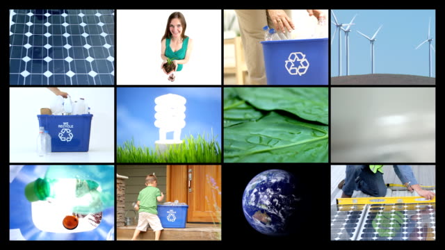 Environmental conservation, video montage video