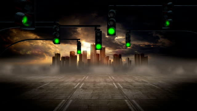 Environmental Issues - City Pollution And Traffic video