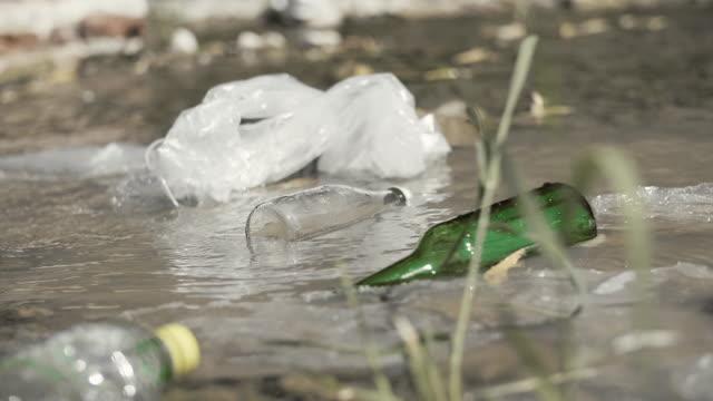 Problème environnemental de pollution de l'eau - Vidéo