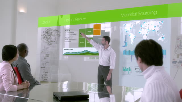 Environmental technology interactive digital touch display