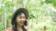 istock Environmentarist working in forest 805956474