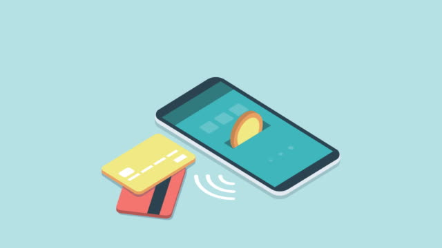stockvideo's en b-roll-footage met e-betalingen en transacties op mobiele apparaten - uitwisselen