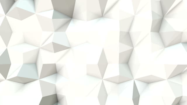 Epic Abstract geometric triangle Background Loopable A4 video