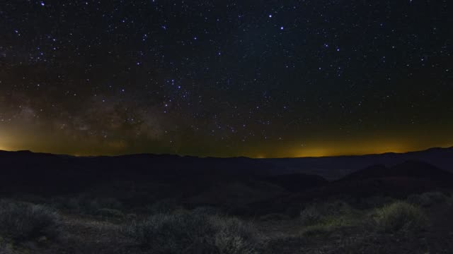 Epic Death Valley Milky Way Night Sky Astronomy Timelapse